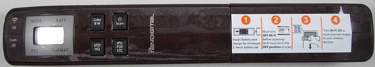 $42 » Pandigtal- Handheld WiFi Wand Scanner - Brown
