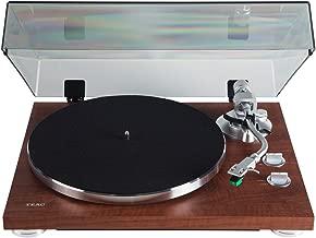 Teac TN-350-WA Walnut 2-Speed Belt Drive Analog Turntable w/USB Digital Output