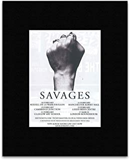 Brand Q Savages - February UK Tour 2016 Mini Poster - 25.4x20.3cm