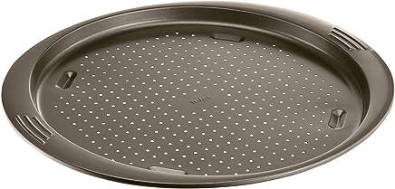 Tefal Easygrip Round Pizza Pan 34cm, Carbon Steel - J1629044