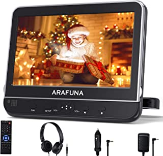 10.1 Inch Car DVD Player with Headrest Mount, Portable DVD Player for Car with Headphones, Support 1080P Video, HDMI Input...