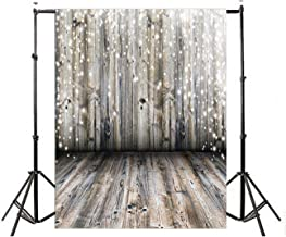 Vinyl Photography Background Nostalgia Wood Floor Rustic Photography Backdrop Baby Newborn Photo Studio Props (5x7 ft, Style 1)