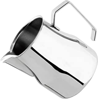 Motta Stainless Steel Europa Rounded Spout Frothing Pitcher - 50 oz.