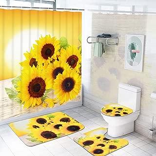 Best sunflower bathroom rugs Reviews