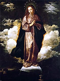 Diego Velazquez The Immaculate Conception - 21