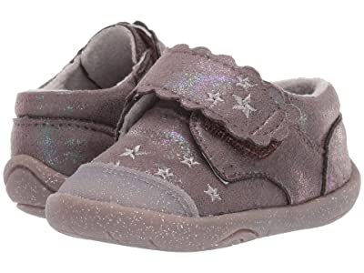 pediped Aurora Grip n Go (Toddler) (Grey Shimmer) Girl