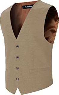 Best beige vest mens Reviews