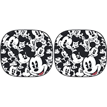 Plasticolor 003780R01 Disney Mickey Expressions Magic Spring Sunshade, 2 Piece