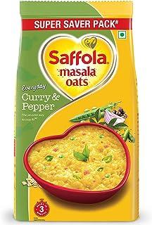 Saffola Masala Oats, Curry & Pepper, 500g