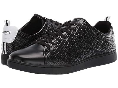 Lacoste Carnaby Evo 119 1 U (Black/White) Men