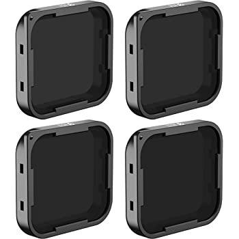 Freewell ND Filter Kit for GoPro Hero5 Black Camera, Includes ND4, ND8, ND16 and ND32 Filter (4-Pack)