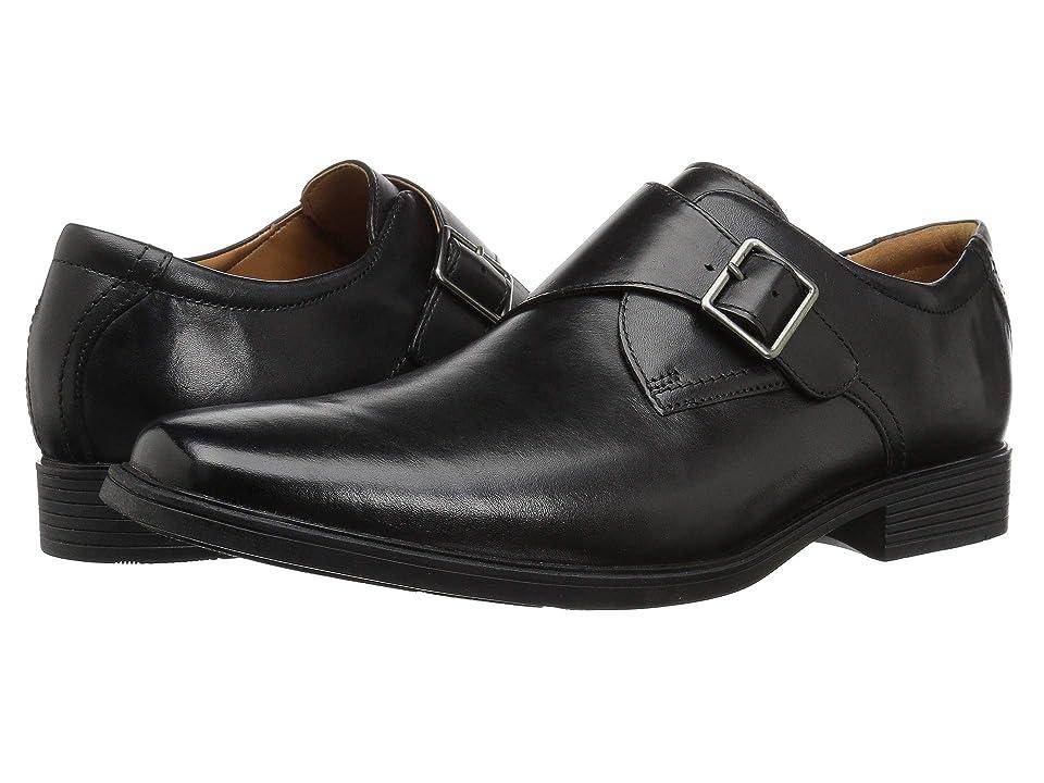 Clarks Tilden Style (Black Leather) Men