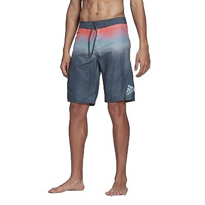 adidas Tech Fade Knee Length Shorts (Legacy Blue) Men
