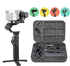 FeiyuTech G6 Max Gimbal Handheld 3 Axis Stabilizer 4-in-1 Fits Sony Alpha Mirrorless Cameras a6300 a6400, GoPro Hero 8 Series Sports Camera and iPhone 11 Pro Max iPhone XR XS Max Smartphones