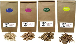 Jax Smok'in Tinder Premium BBQ Wood Chips for Smokers Variety Pack - Our Most Popular Medium Sized Smoker Chips (Hickory, ...