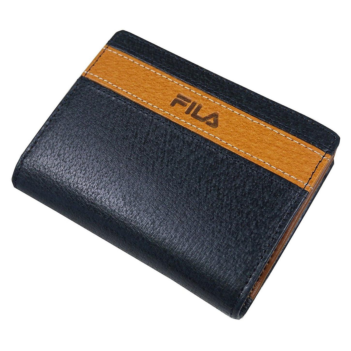 非常に怒っています前投薬単語(フィラ)FILA エフワンシリーズ 二つ折り財布 小銭入れ付き 横型/61fl14