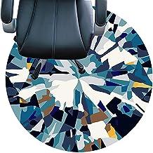 حصيرة كرسي مكتب للسجاد، قاعدة غير قابلة للانزلاق، مقاومة للاهتراء، صامتة، سهلة التنظيف سجادة للمكتب والمنزل (اللون: C، الح...