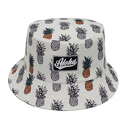 d25bb6ef70d Pineapple Bucket Hat  Amazon.com