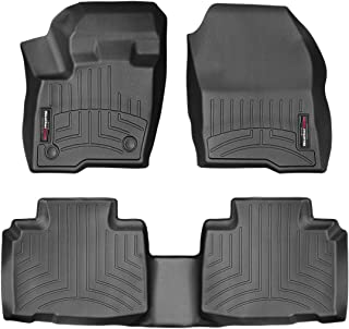 WeatherTech Custom Fit FloorLiner for Ford Edge - 1st & 2nd Row (Black)