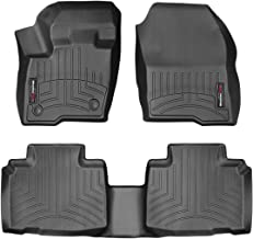 WeatherTech Custom Fit FloorLiner for Ford Edge - 1st & 2nd Row (Black)