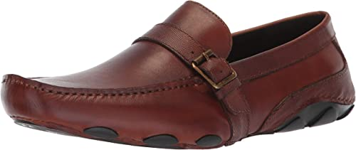 Kenneth Cole REACTION Men's Toast Driver C Driving Style Loafer, tan, 8 M US