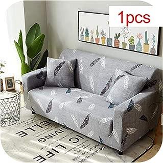 Asarahshop Slipcovers Sofa Tight wrap All Inclusive Slip Resistant sectional Elastic Full Sofa Cover/Towel Single/Two/Three/Four Seater,1,Three seat Sofa
