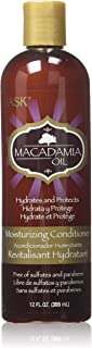 Hask Macadamia Oil Moisturizing Conditioner, 355 ml