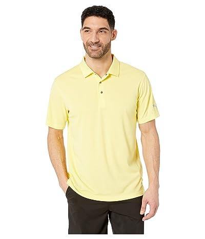 PUMA Golf Grill To Green Polo (Blazing Yellow Heather) Men