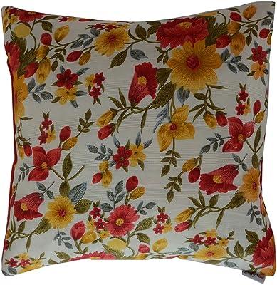 meSleep Printed Dupioni Silk Cushion Covers