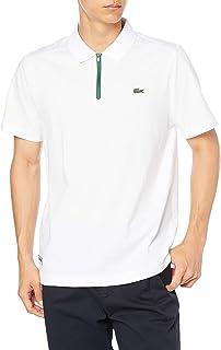 [ラコステ] ポロシャツ [公式] ドライコットン×メッシュポロシャツ メンズ YH1521L
