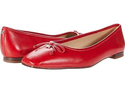 Sam Edelman Jillie (Lava Red North Nappa Leather) Women