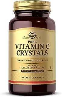 Solgar Vitamin C Crystals, 8.8 oz - Antioxidant, Immune Support, Collagen Formation, Healthy Skin & Joints - Pure 100% Vit...