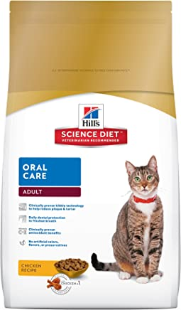 Hill's Science Diet Adult Oral Care Cat Food