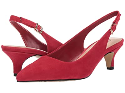 Bella-Vita Scarlett (Red Kid Suede Leather) Women