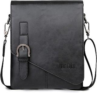 Alena Culian Men Shoulder Bag Messenger Bag Men Bag Crossbody Bag For ipad( black) a77ca79bd76