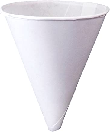 Konie Cups - 10.0KRF Recyclable Paper Cone Funnel, 10 oz Disposable {Tazas de