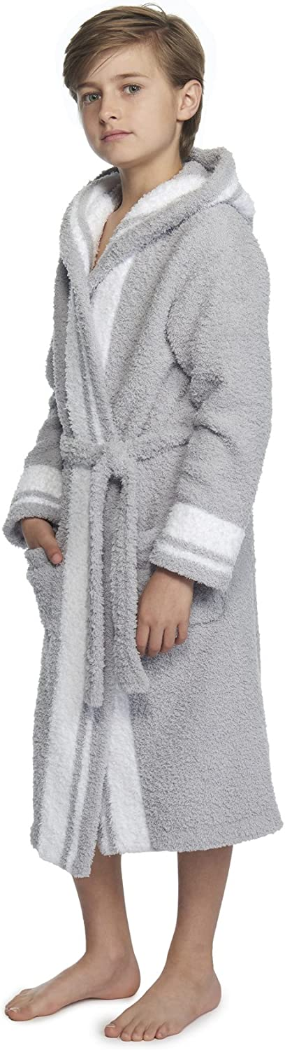 Barefoot Dreams The CozyChic Youth Striped Robe