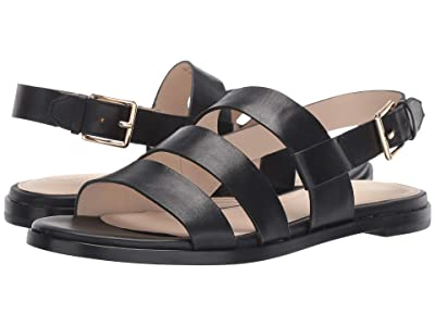 Cole Haan Anela Grand Sandal (Black Leather) Women