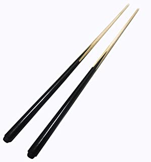 Size:Type 1 WKZ 15 OZ//48 Inch Billiard Pool Cue,1//2 Jointed Handcraft Shiraki,Snooker Cue Tips 12 Mm Head