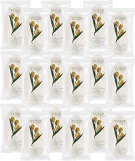 TULIP 204 Count Travel/Spa Facial Body Soap 0.7 Ounce Hotel Size in Bulk Individually Wrapped Scented with A Fresh Fragrance