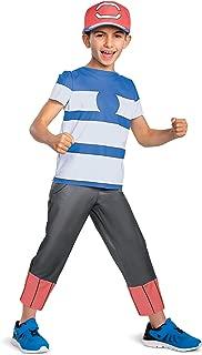 Disguise Ash Ketchum Alolan Pokemon Boys' Costume
