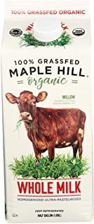 Best Maple Hill Creamery 100% Grass Fed Organic Whole Milk, 64 oz Review