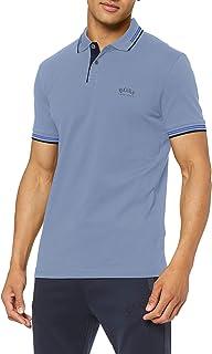 BOSS Men's Paul Curved Polo Shirt