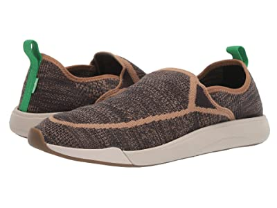 Sanuk Chiba Quest Knit (Brown/Natural) Men
