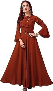 any kids Women's Georgette Anarkali Dress