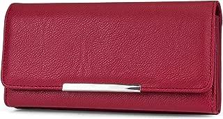 File Master Womens RFID Blocking Wallet Clutch Organizer With Change Pocket