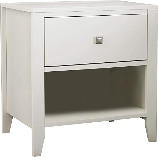 Hillsdale Furniture 33530 Pulse Nightstand White