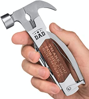 Gifts for Dad for Fathers Day - Dad Multitool Gifts from Daughter or Son