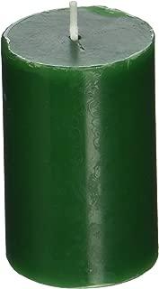 2 x 3 Hunter Green Pillar Candle