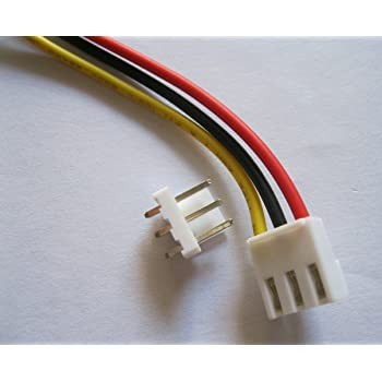 """VH3.96 3.96 mm 2Pin Hembra /& Conector Macho 22AWG 300 mm 12/"""" Cable conduce 80 un"""